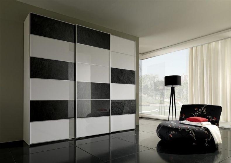 Шкаф черно белый фото красноярск